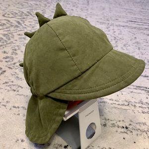 Green Dino rain/sun hat.